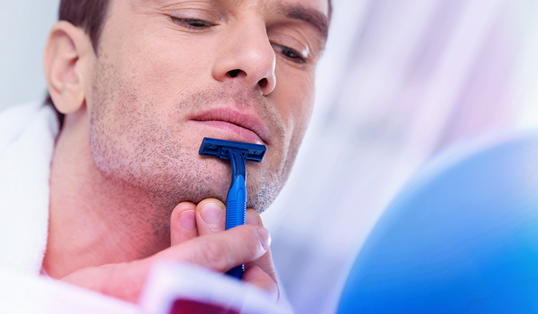 An old razor, especially the ones kept in your bathroom, can collect bacteria