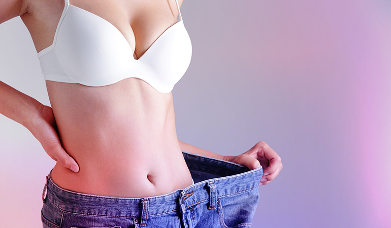 Irregular periods may be caused due to extreme weight loss or weight gain