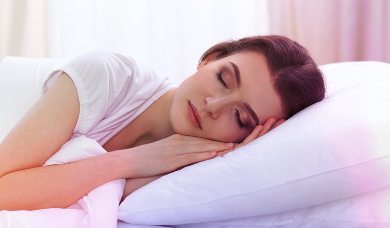 Get plenty of sleep for smooth and glowing skin