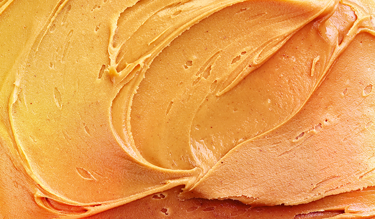 Low-fat peanut butter is often full of extra sugar that is especially bad for weight-watchers.