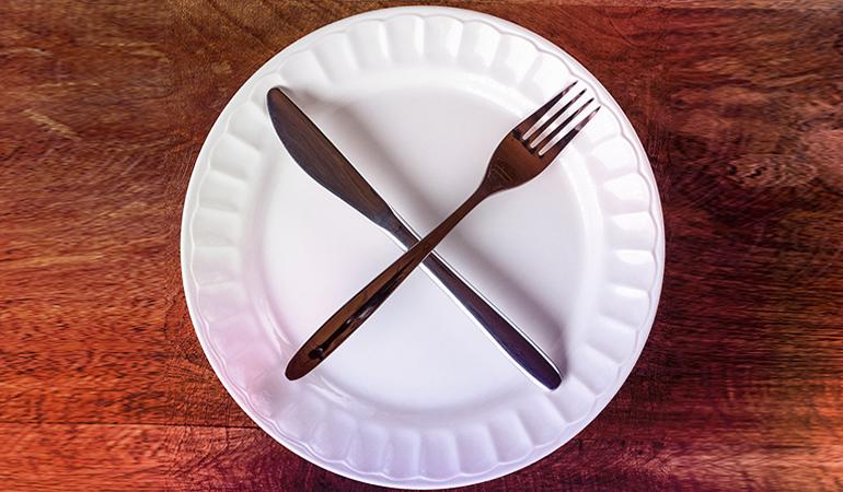 Don't skip meals.