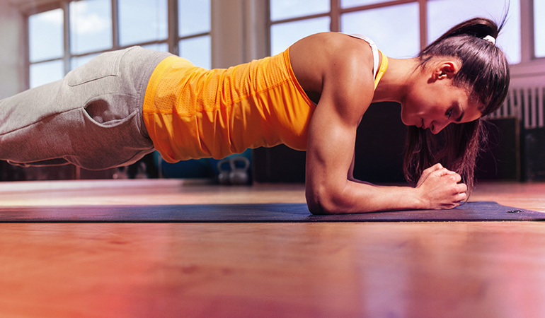 Strengthen your core with abdominal breathing and yoga