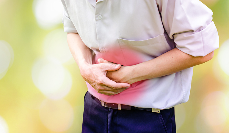 you often have stomach pain and cramps