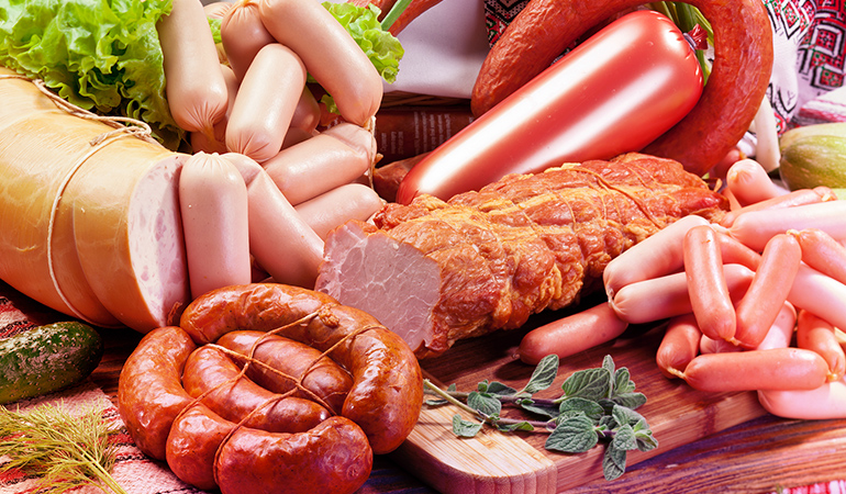Grain-fed meats are often injected with antibiotics that are bad for human health.