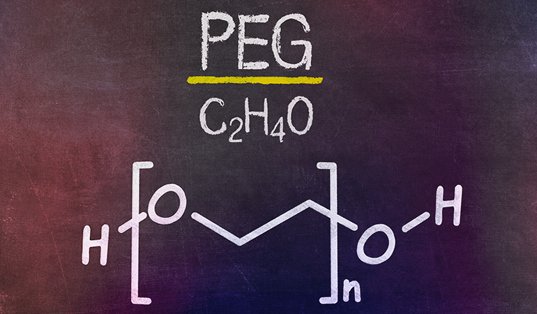 Polyethylene glycol be a developmental toxicant that could interfere with human development.