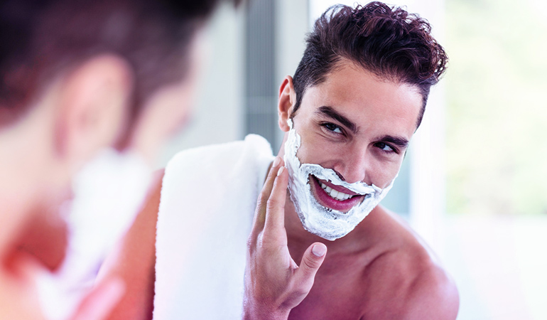 Use fragrance-free products on your face and skin to avoid any irritation
