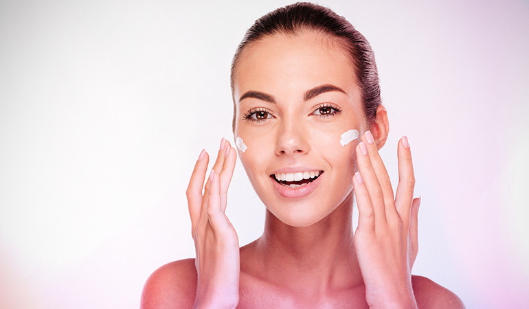 Exfoliate and moisturize for smooth and glowing skin