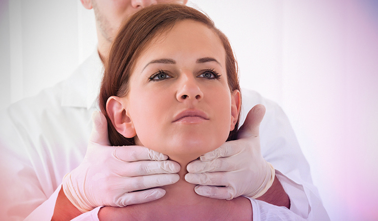 Irregular periods may be caused due to thyroid problems