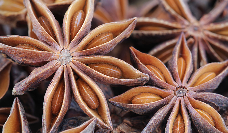 Anise improves digestion, reduces gas, and relieves sulfur burps