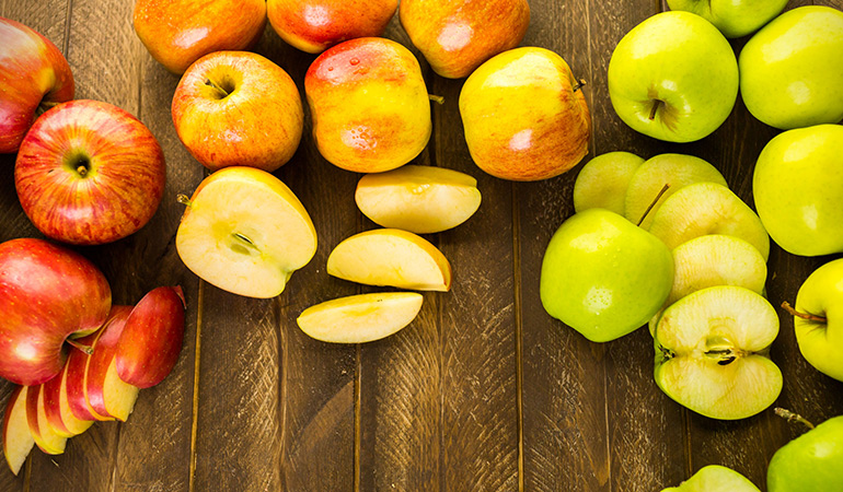 Studies found that pectin in apples was helpful in combating radiation-induced fibrosis in rats.