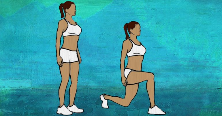 bodyweight-lunge