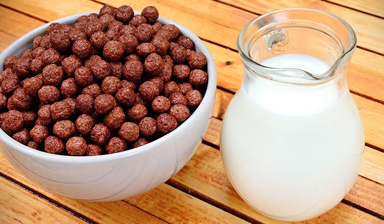 Breakfast cereals sneak caffeine into the body