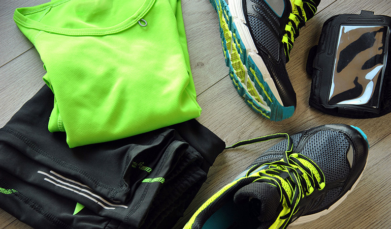 Carry your workout gear for a quick change of clothes