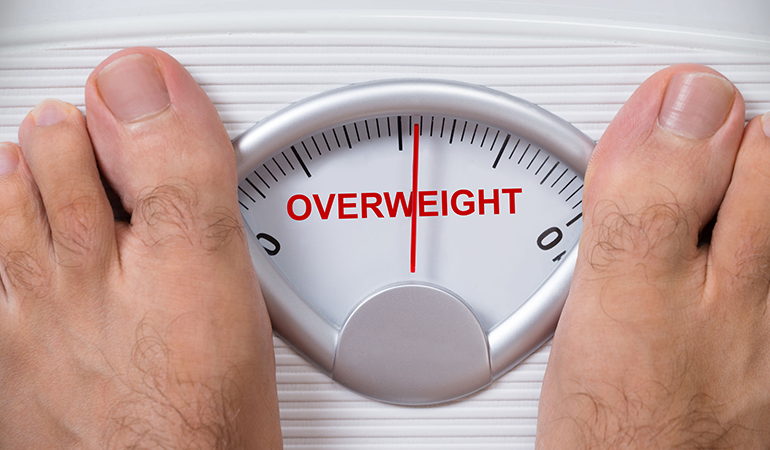 Obesity increases the risk of developing NAFLD