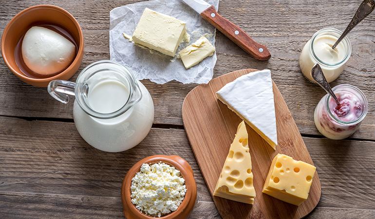 Dairy increases sebum production.