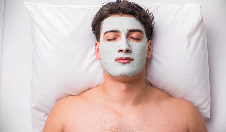 Exfoliate twice a week to get rid of dead skin cells