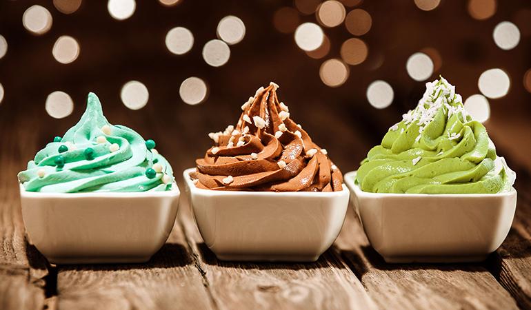 Flavored yogurt is high in sugar.