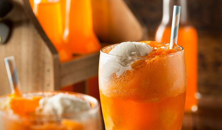 Fruit sodas sneak caffeine into the body