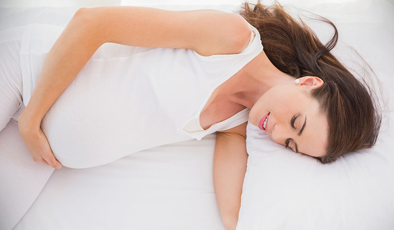 your body works extra hard during this period, so needs more rest