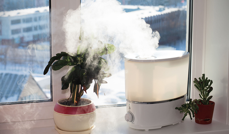 Poor indoor air quality triggers COPD flare-ups.