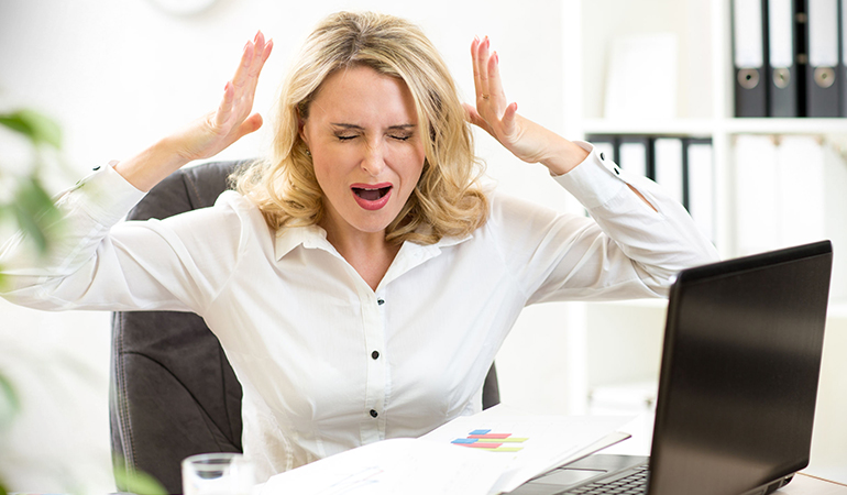 Learn to manage stress better.