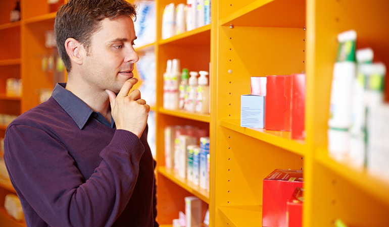Pick oil-free or non-comedogenic products