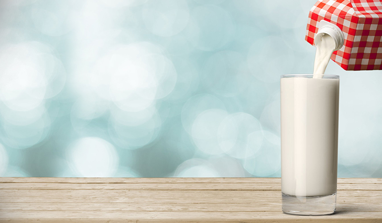 Store-bought almond milk contains carrageenan that can cause digestion problem