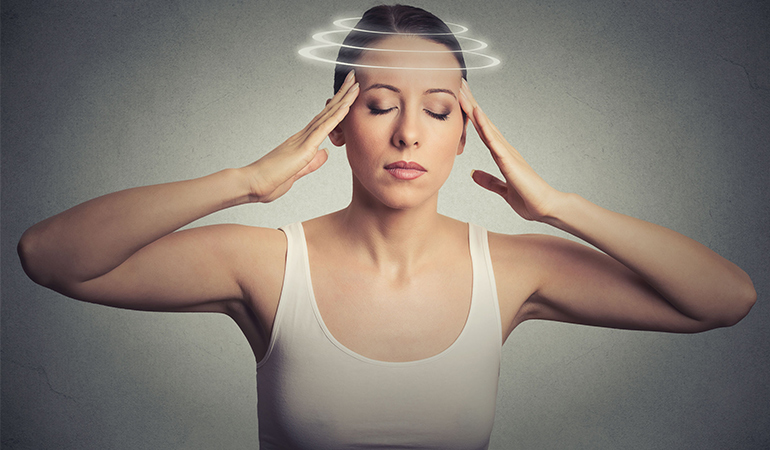Orthostatic intolerance is characterized by symptoms like dizziness and fatigue that occur while standing.