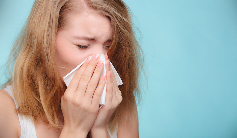 Mucus production increases when you are sick