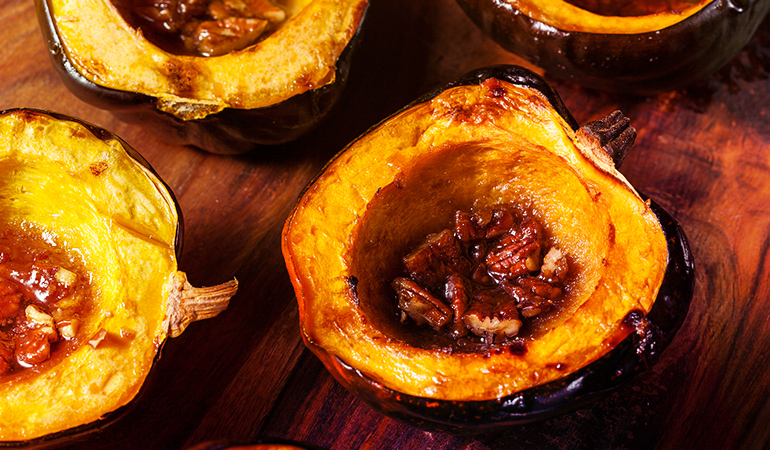 Acorn squash is a rich source of iron