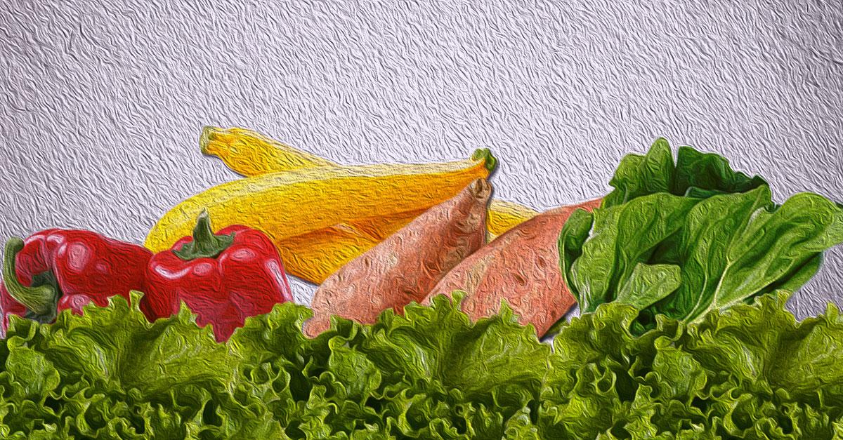 Beta-carotene-rich food sources.