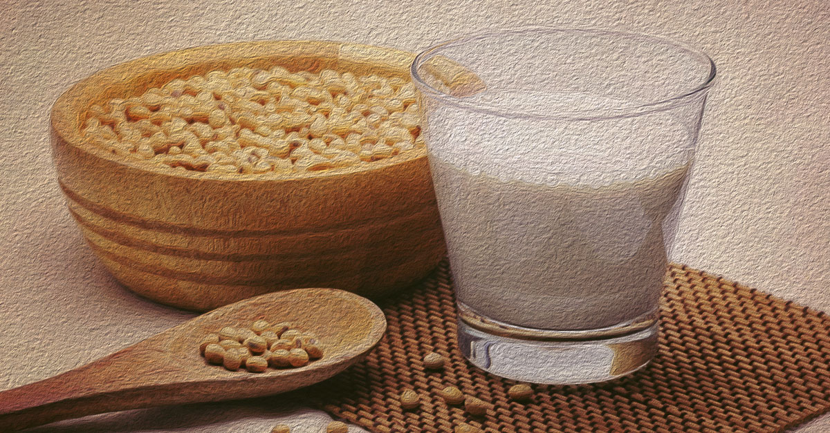 Calcium content in soy products.