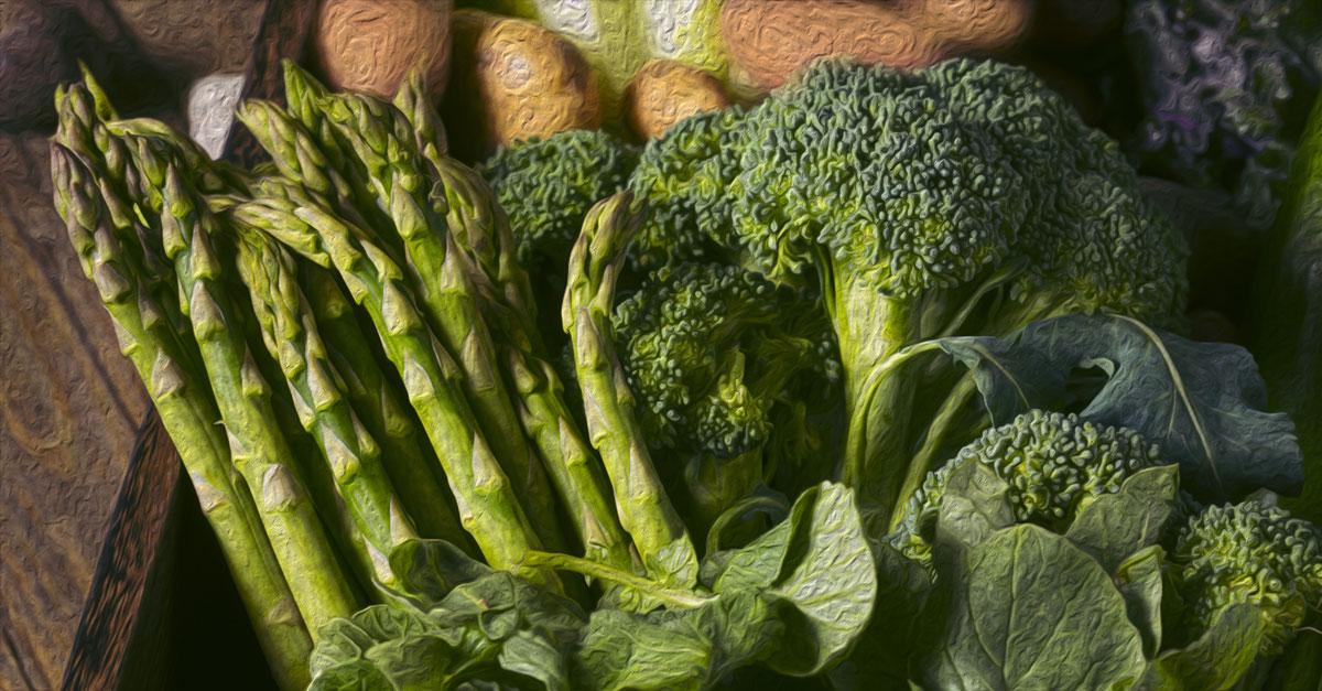 iron rich vegetables