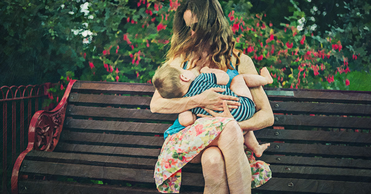 Breastfeeding in public is legal in many countries.