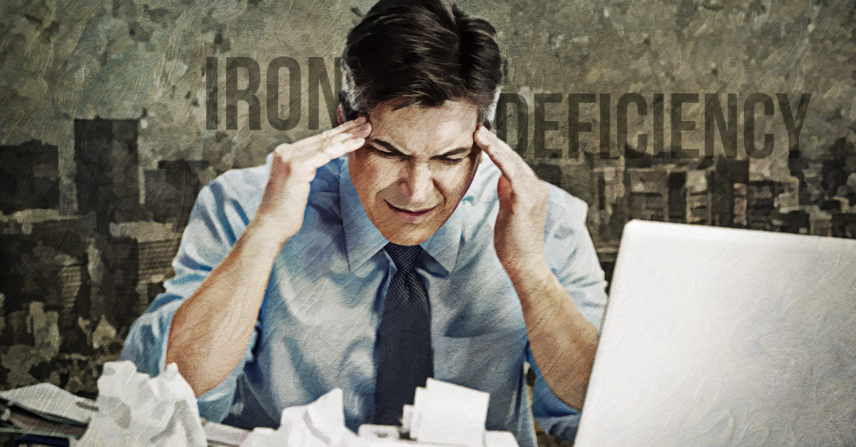 Diseases due to iron deficiency include anemia and ulcers.