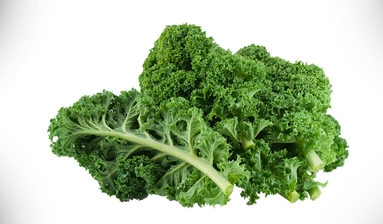 1 cup kale, cooked: 94 mg of calcium (7.2% DV)