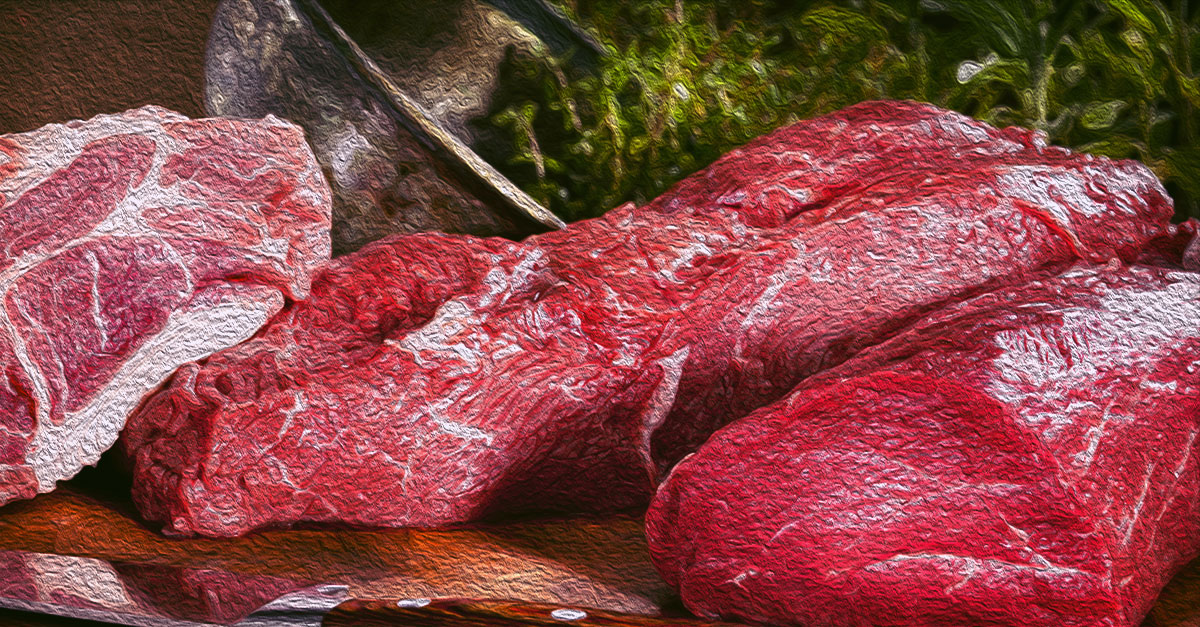 Most meats are a good source of iron.