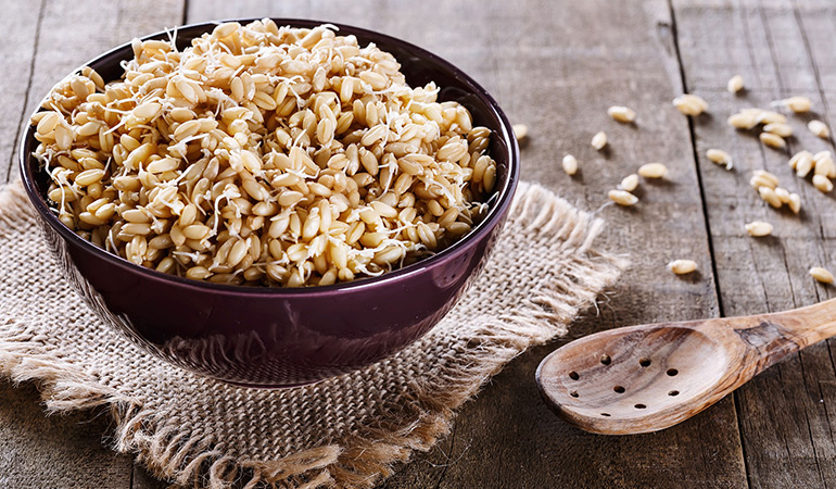 Wheat germ packs in 4.73 mg of zinc or 43% DV per ounce.