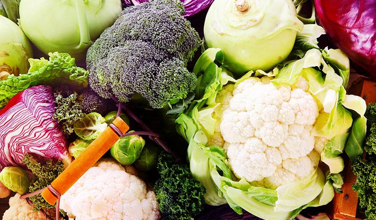 Half a cup of broccoli has 110 mcg of vitamin K.