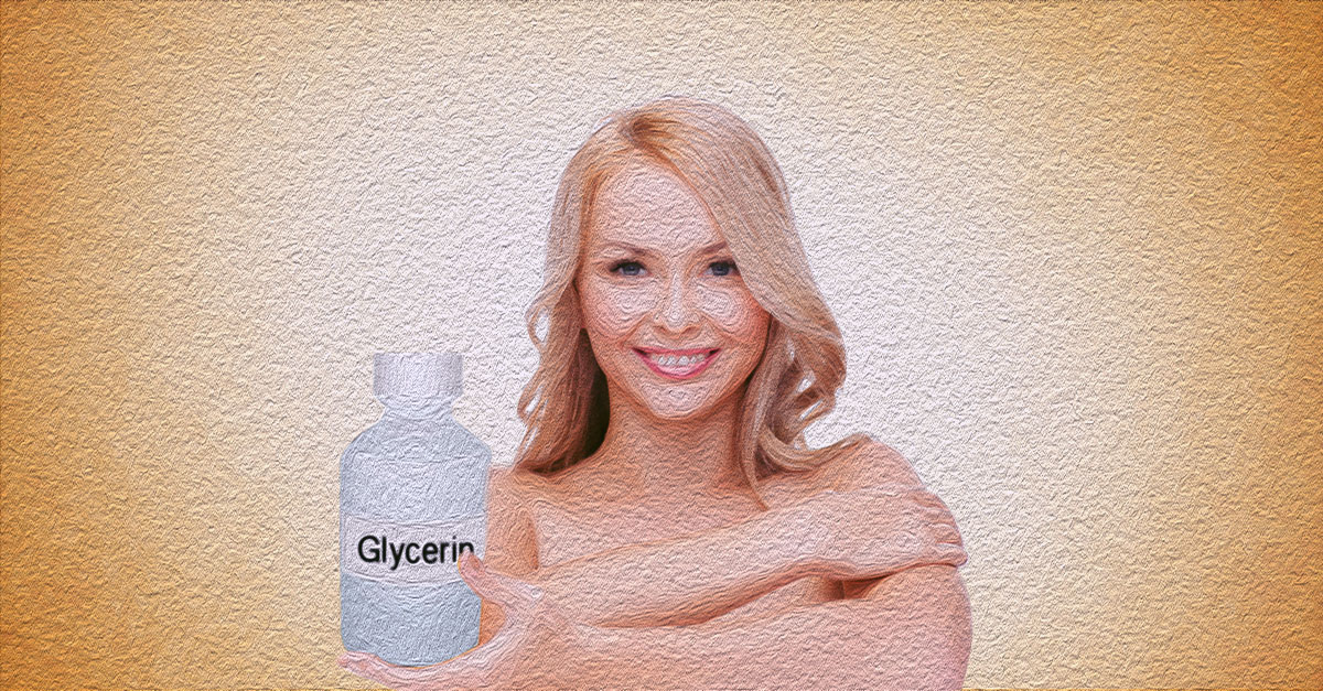Glycerin does not only hydrate the skin, it also heals wounds and treats psoriasis.