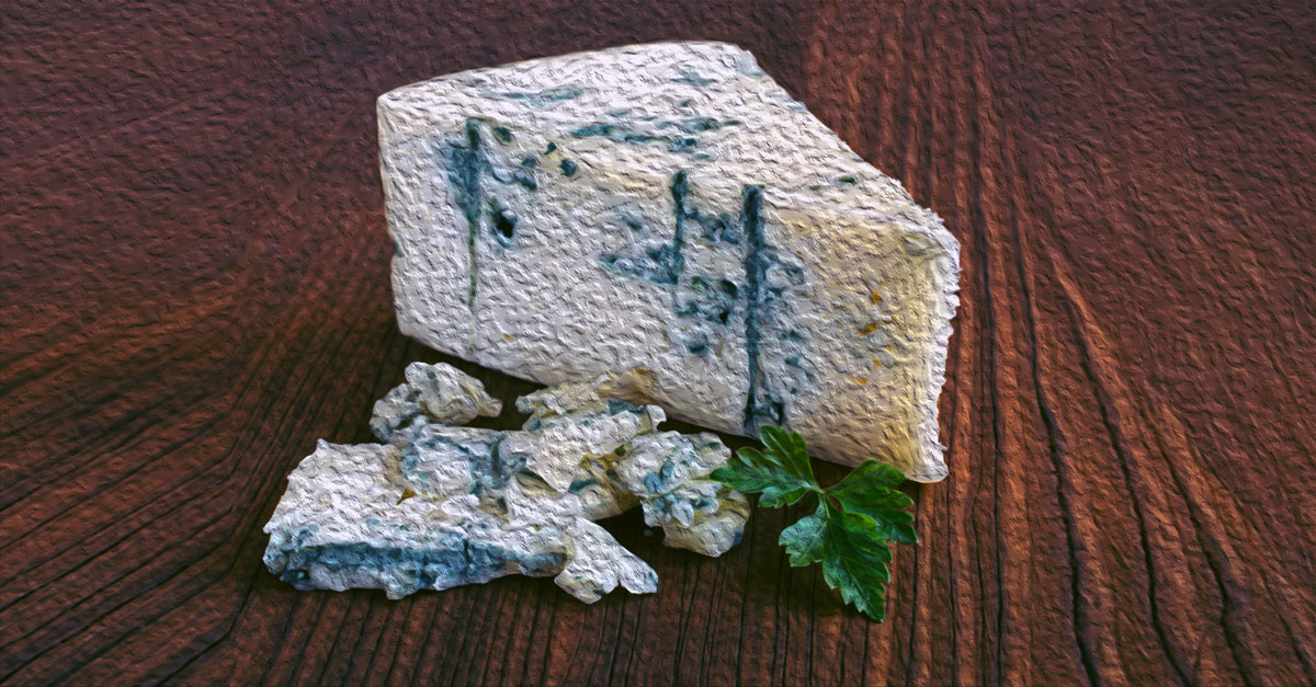 Blue cheese has some health benefits but it cannot be considered a health food.