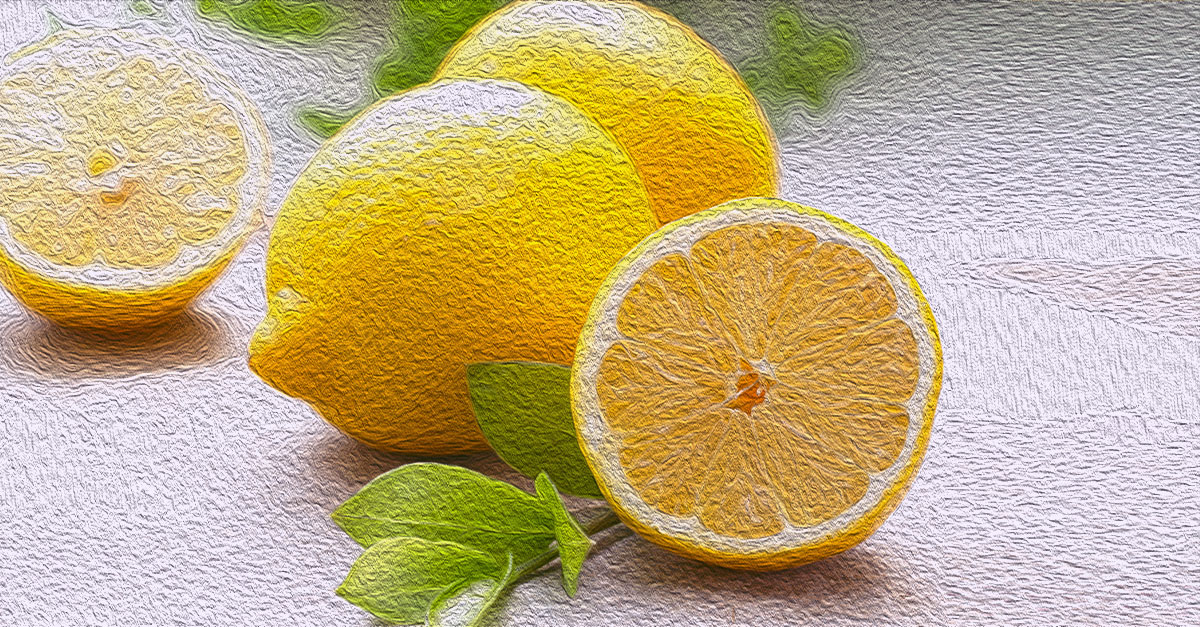 Lemons are good for diabetics because of their vitamin C and fiber content.
