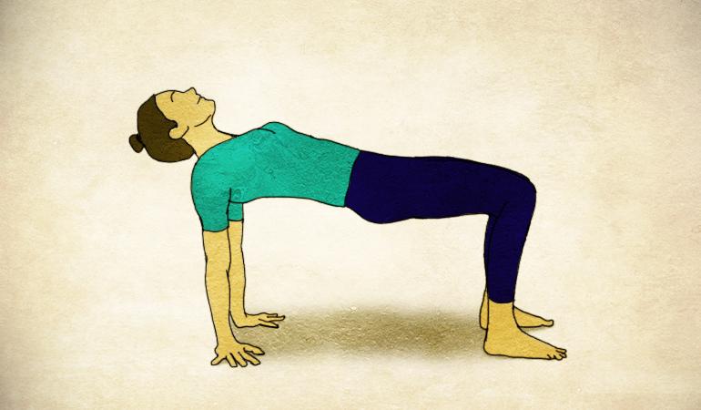 Upward plank gets rid of diastasis recti.