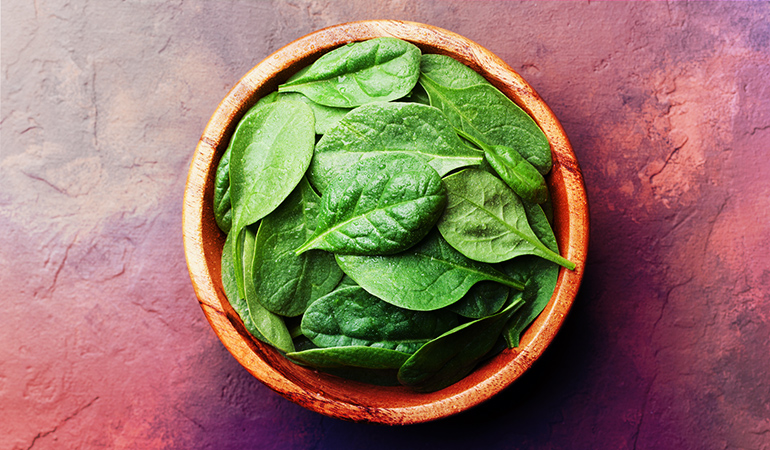 A cup of cooked spinach: 3.74 mg of vitamin E (24.9% DV)