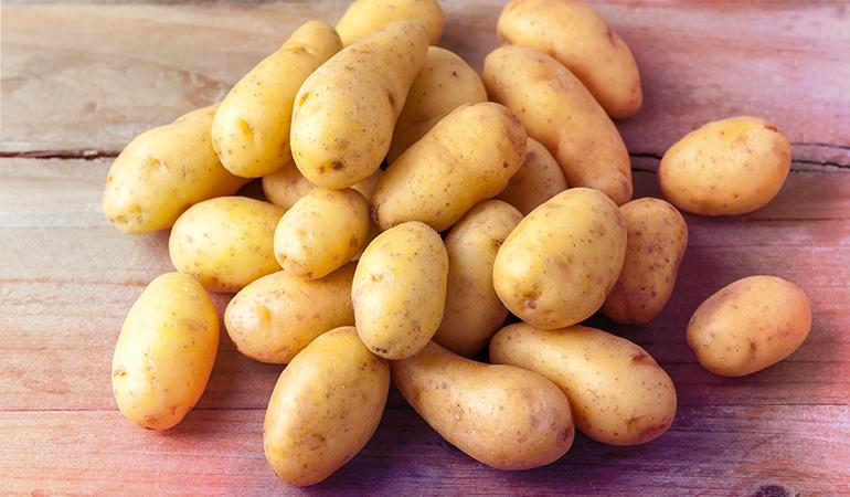 1 baked potato: 37.7 mg of vitamin C (41.9% DV)