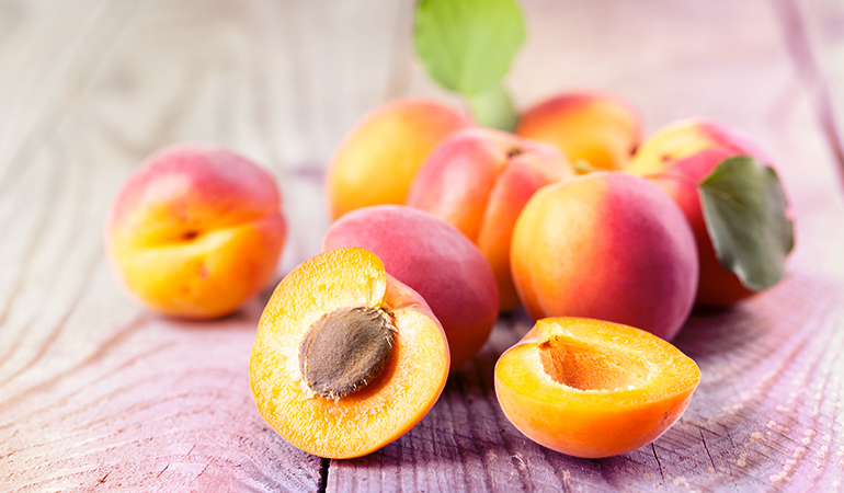 1 cup of sliced apricots: 21 mg of calcium (1.6% DV)