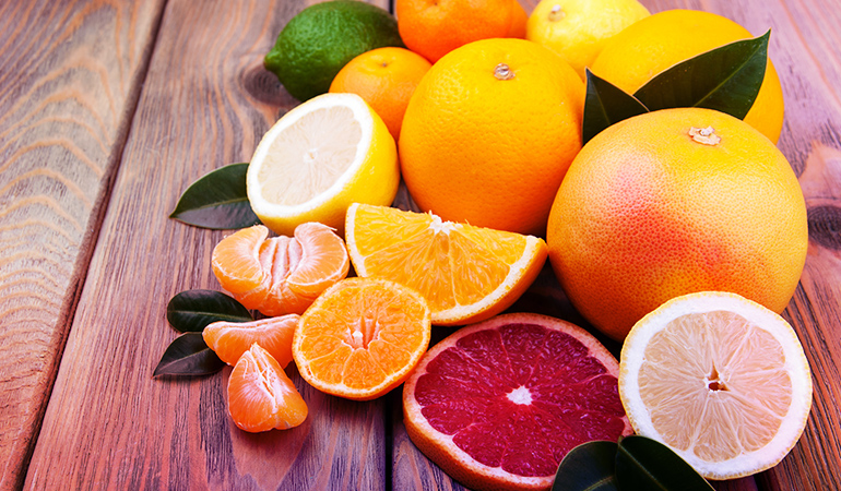 1 cup of kumquats: 93 mg (7.2% DV)
