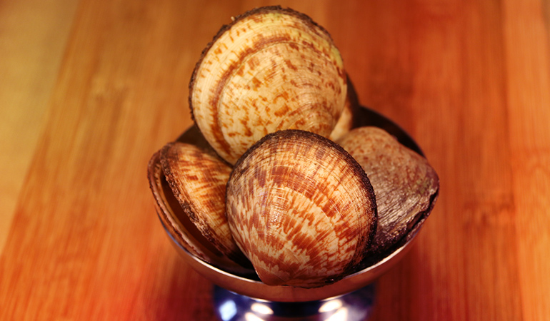 Fresh shellfish contain over 100 ng/g of vanadium.