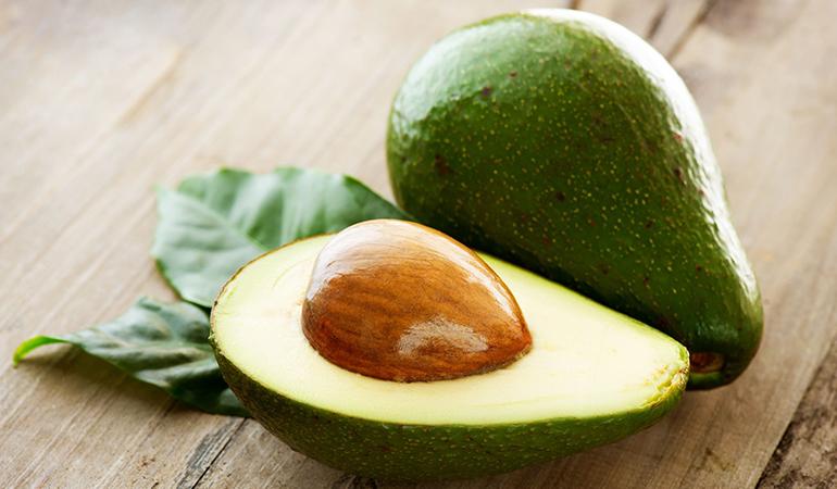A cup of pureed avocado has 4.76 mg of vitamin E (31.7% DV).
