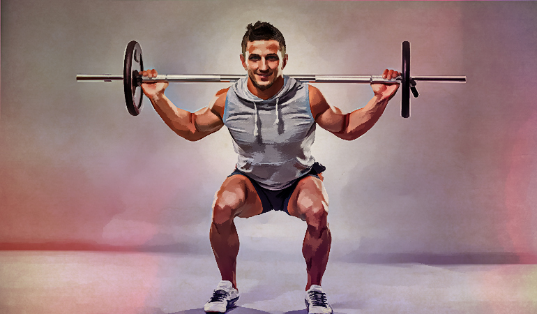 boost Back squats increase muscle strength and power.